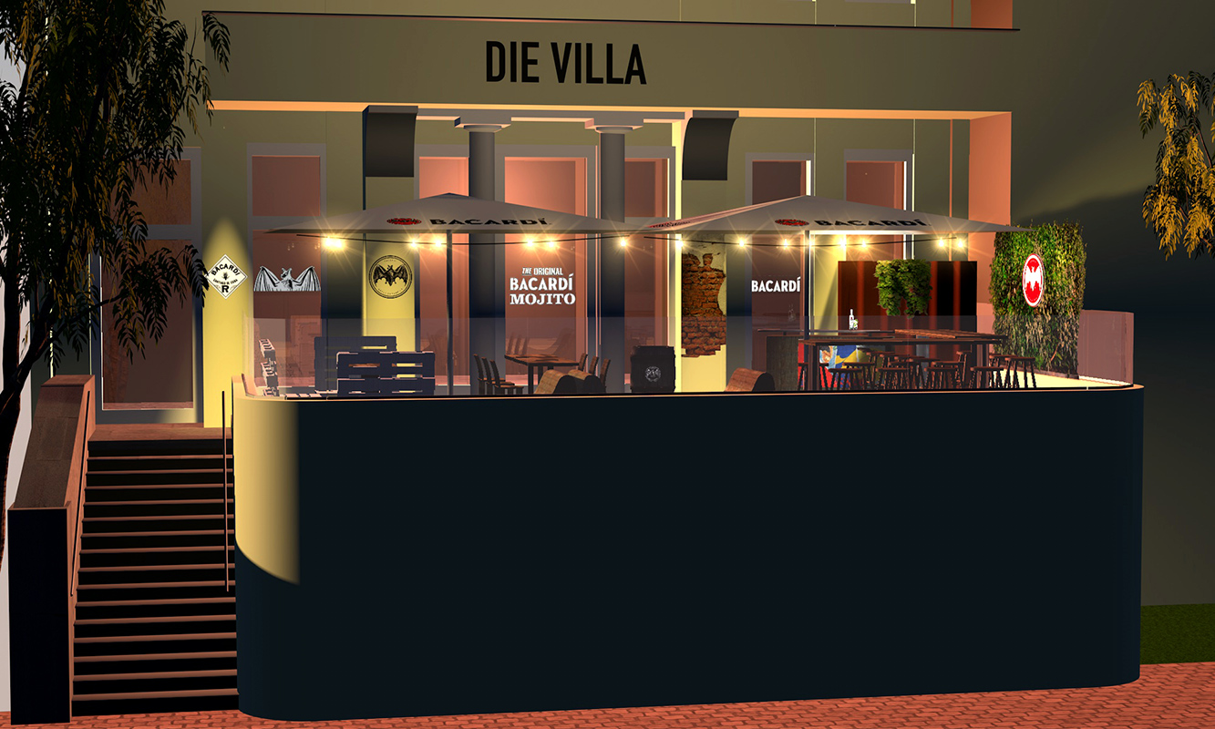 Barcadi-Mojito; Die Villa, Kiel