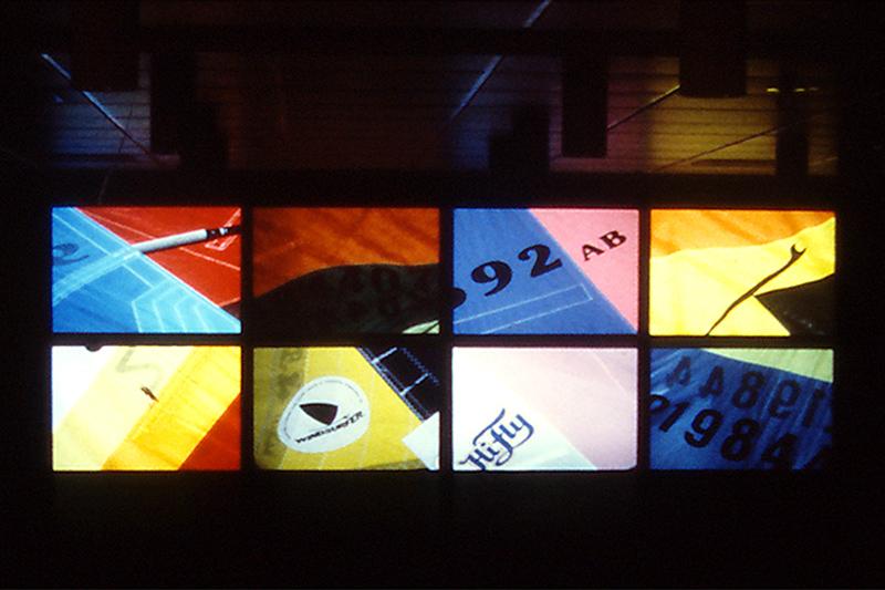 8 Feld Multivision mit 16 Projektoren